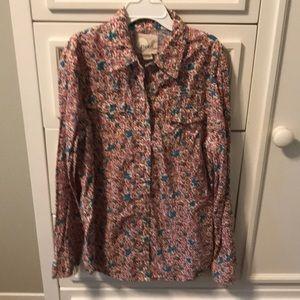 Peek floral blouse - size 12